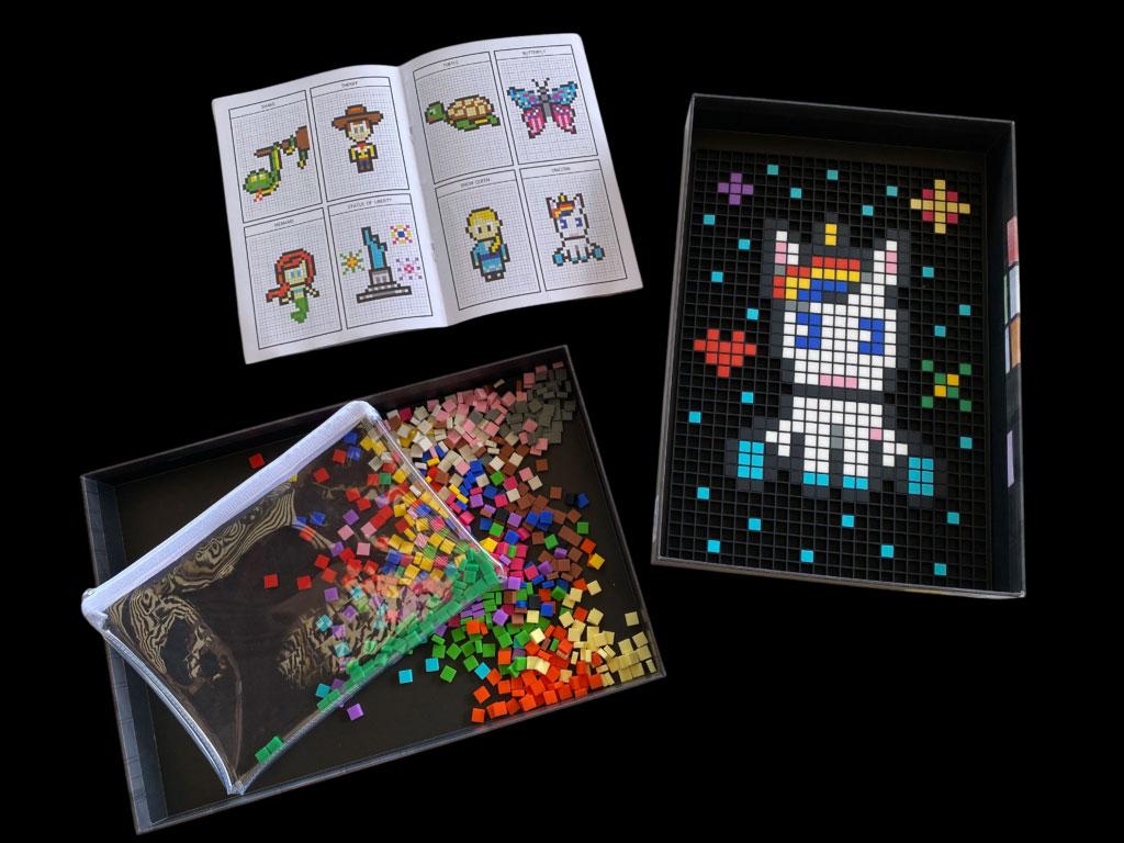 Complete pixel art