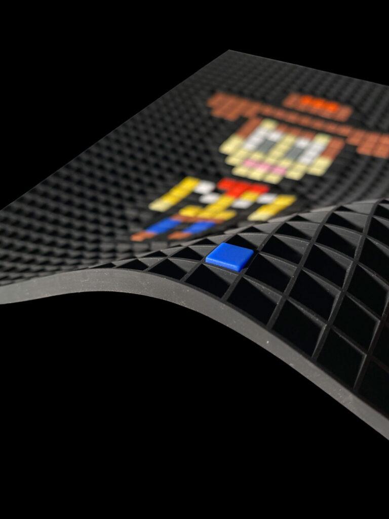 Pixel art grid A4